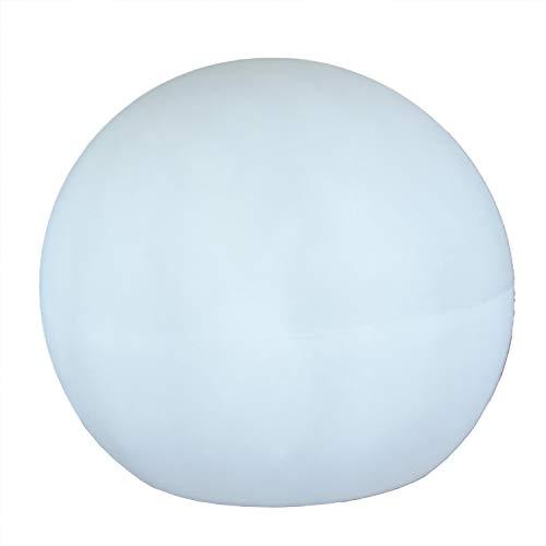 Buly - Lámpara portátil portátil para exteriores (recargable, 40 cm de diámetro), color blanco