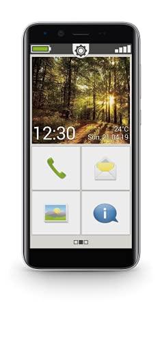 "Emporia Smart 3 Mini 12,7 cm (5"") 145 g Negro Teléfono para Personas Mayores Smart 3 Mini, Barra, SIM única, 12,7 cm (5""), 8 MP, 2500 mAh, Negro"