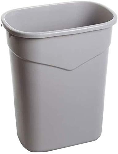 CHUTD Grijze vuilnisbak, familie restaurant keuken, grote plastic vuilnisbak, De Mall vuilnisbak kan worden gerecycled (kleur: grijs, grootte: 30 * 18 * 48CM)