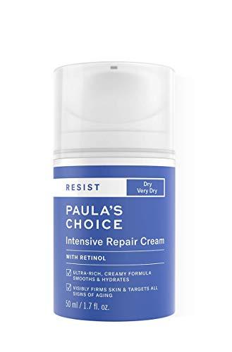 Paula's Choice Resist Crema Hidratante Rica Facial - Crema de Noche con Retinol & Niacinamida -...