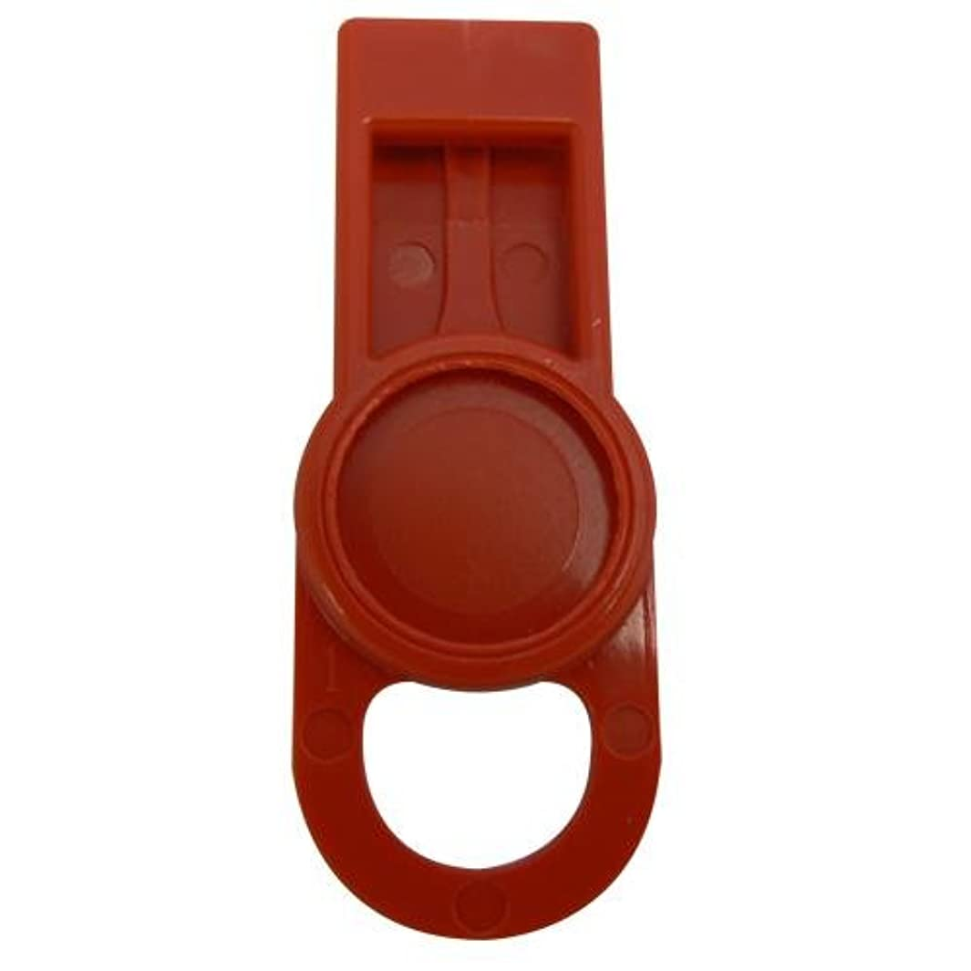 OIL SAFE 205508 ID Washer Tab, Red (Pack of 6)