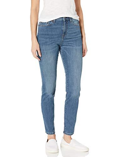 Amazon Essentials High-Rise Skinny Jean Jeans, Desteñido Medio, 8 Regular