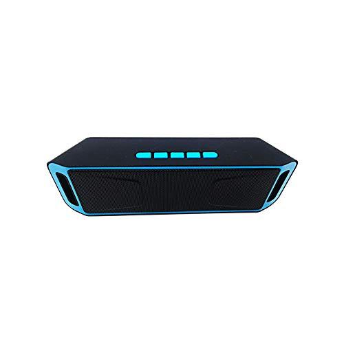 Bluetooth Lautsprecher, Wireless V5.0 Bluetooth Speaker mit Dual-Treiber Bass & FM Radio, 8h Spielzeit, Freisprechfunktion, AUX/TF/USB, Tragbarer Musikbox for iPhone Android PC