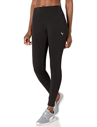 PUMA Women's Essentials Leggings, Black-Cat, X-Large