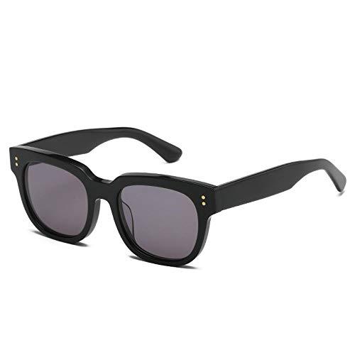 Gosunfly Gafas de sol cuadradas para mujer, sombrilla para hombre, anti-ultravioleta, cara grande, gafas de sol finas