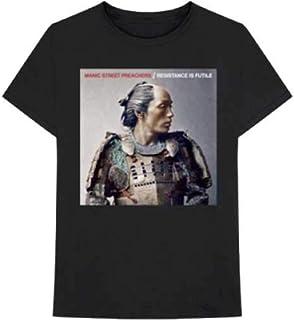 T-Shirt (Unisex Xl)Resistance Is Futile Album Cover Black