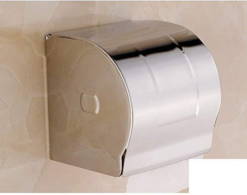 Tenedor de papel higiénico en acero inoxidable 304 Rollo de rollo Soporte de papel Rodillo de montaje de pared Tipo de baño Cocina Teléfono Teléfono Teléfono Almacenamiento Rack Rust Rust Hox-PRUEBA D