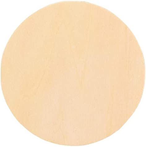 """Woodcrafter 1/2"""" Thick Baltic Birch Plywood Circle 14 Inch"""