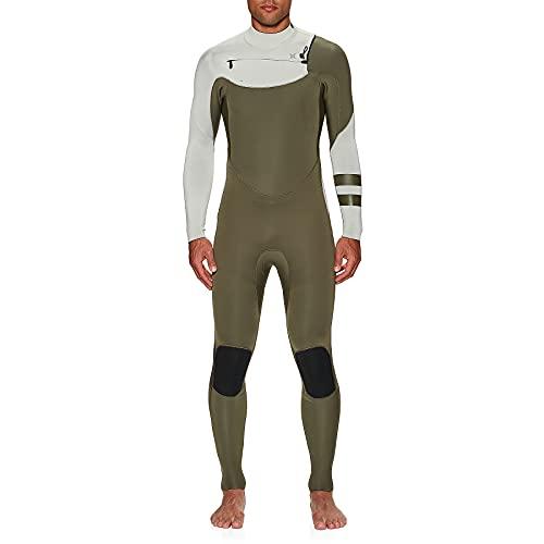 Hurley Advantage Fullsuit - Traje de neopreno para hombre, talla grande, tamaño mediano, color verde oliva