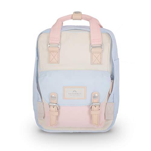 Doughnut Macaroon Mini Cream Iceberg Sakura Unicorn Dream 7L Travel School Ladies College Girls Lightweight Casual Daypacks Bag Small Backpack (SAND)