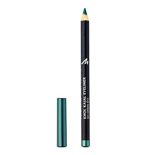 Manhattan Khol Kajal Eyeliner – Grüner Kohle-Kajalstift für Smokey Eyes und eine perfekt umrandete Augenkontur – Farbe Go Green 87Z – 1 x 1,3g