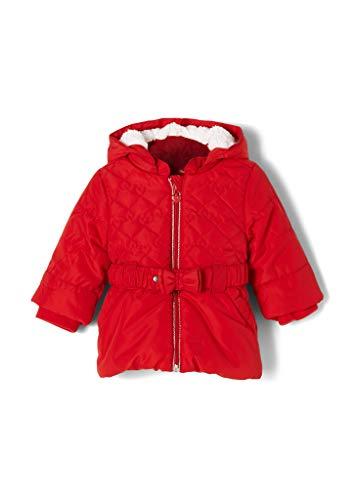 s.Oliver Unisex - Baby Herzchenmantel mit Fleece-Futter red 68