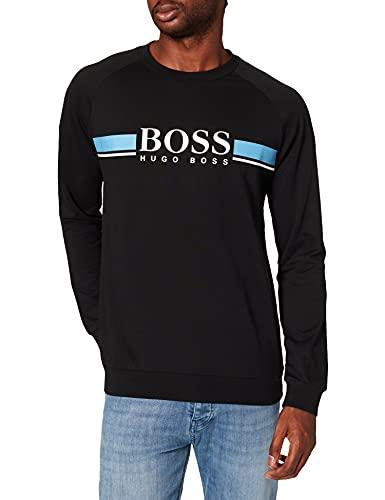 BOSS Authentic Sweatshirt Maillot de survtement, noir2, M Homme