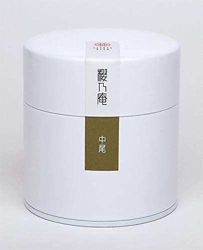 奈良県田原産 お茶 中尾 大和茶 高級 煎茶 特撰 40g入り 缶