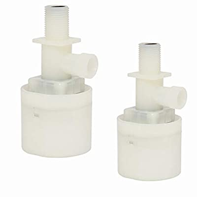 "1/2"" Water Float Valve, Water Level Control Water Tank Traditional Float Valve Upgrade by SAFBY Direct"