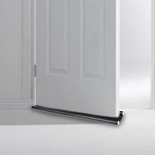 Fancylande tochtstrip met dubbele zijkanten van de onderdeur, geluidsisolatie, deurnaad onder, deurafdichting tochtstopper Tremendous