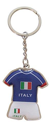 Schlüsselanhänger Trikot und Shorts der Team von Italien Fußball, Europapokal 2016.