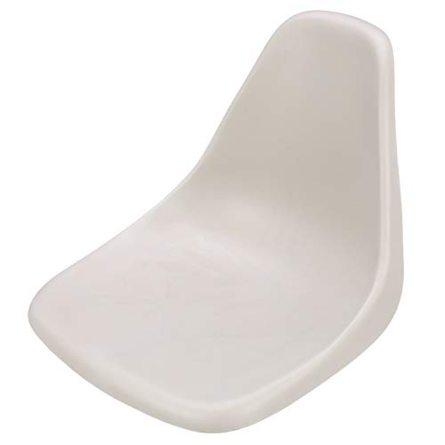 Attwood 98390GY Molded Bucket Seat, 1-Piece Molded Plastic, with Mounting Screws, Gray, 18 Inches W x 21 Inches D x 16 Inches H