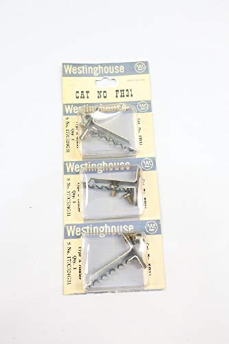 Pack of 3 WESTINGHOUSE FH31 Overload Relay Heater Element
