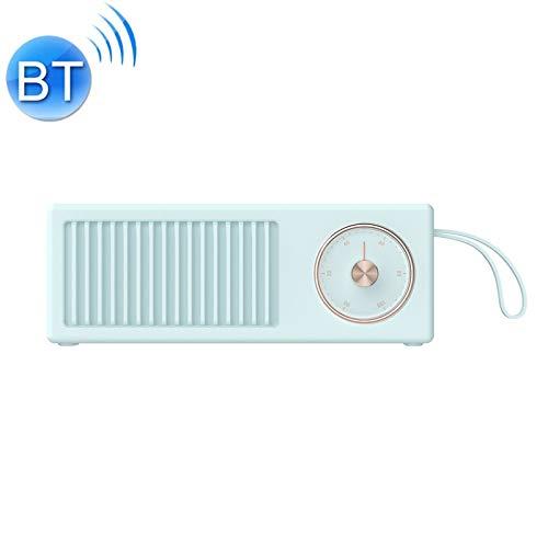 QIA Mini Retro drahtlose Bluetooth-Lautsprecher, Lautsprecher-beweglicher 4W 5V / 1A High Fidelity Stereo Auto-Subwoofer Rotary Switch,A