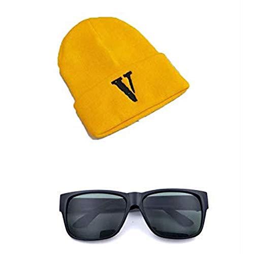 Conjunto de Disfraces de Minions Sombrero y Gafas para Adultos Carnaval - una Talla para Todos