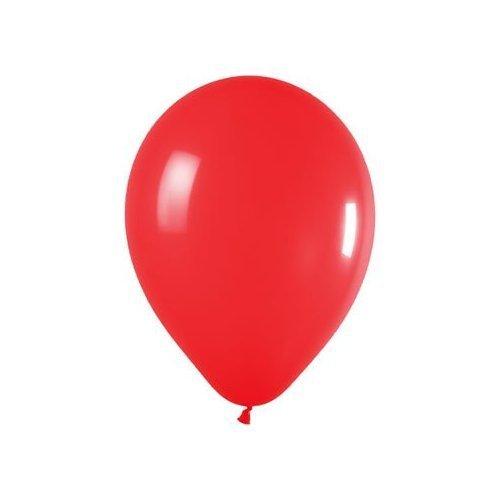 Partyrama Lot de 50 ballons en latex à gonfler à l'hélium Rouge