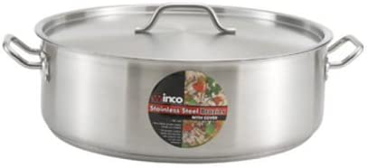 Winco SSLB-10 10-Quart Premium Stainless Steel Brazie Induction Animer and price revision Arlington Mall