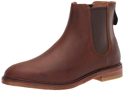 Clarks Men's Clarkdale Gobi Chelsea Boot, Beeswax Leather, 7.5