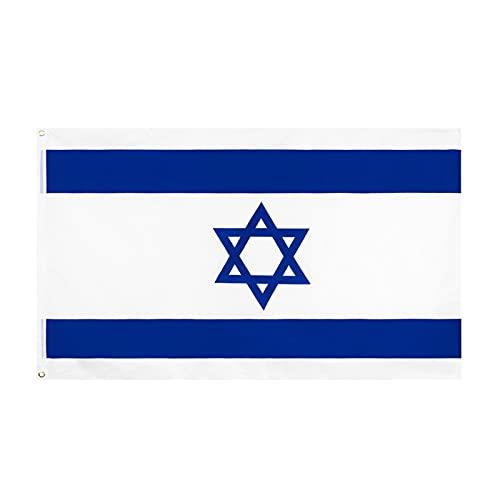 Flagge Israel 150x90cm, ISRAELISCHE Fahne 5 X 3FT, flaggen Top Qualität