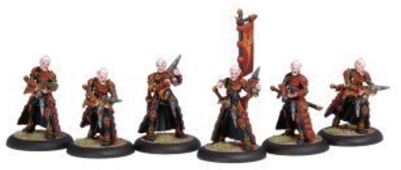 Hordes  Skorne Venators Unit scatola (6 cifras) by Hordes