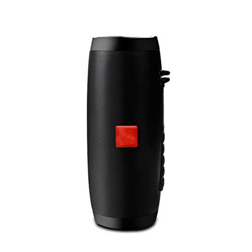 Draadloze Bluetooth luidspreker LED draagbare Boombox bass Column subwoofer-soundbox met microfoonondersteuning TF FM USB subweffer