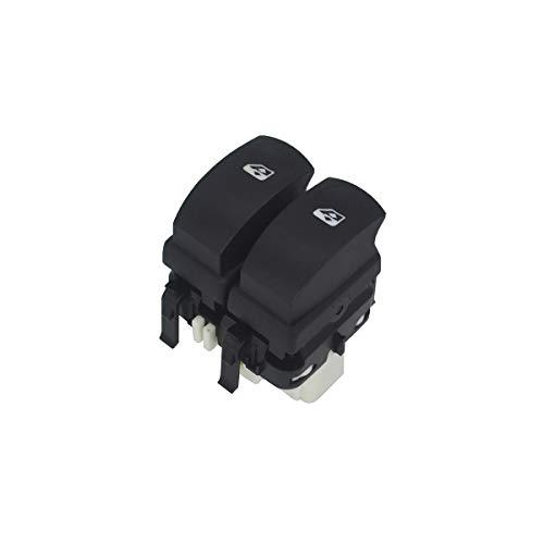 KASturbo 8200214943 Interruptor de Control de Ventana eléctrica, Boton de Elevalunas para Clio MK3 Modus Symbol Twingo MK2