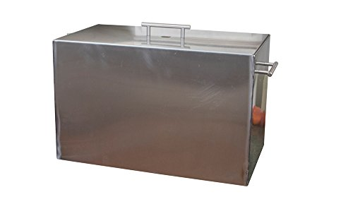 15 quart Stove Top Water Bath Canner, Large Stock Pot - Not Polished - Hand Made