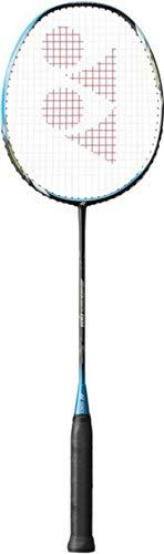 YONEX Badmintonschläger Arcsaber 001 schwarz-blau, 100% Graphit/Carbon Badminton Racket