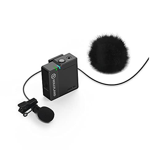 Hollyland LARK 150 draadloze microfoon clip on draadloos microfoonsysteem met 2,4 GHz voor vlogging, YouTube…