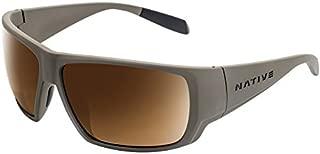 Native Eyewear Sightcaster Sunglass, Desert Tan, Brown