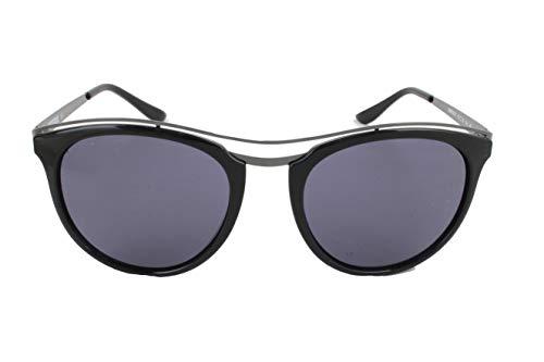 Missoni Damen Sonnenbrille, Schwarz - Gestell: schwarz/grau – Glas: rauchfarben - Größe: Einheitsgröße