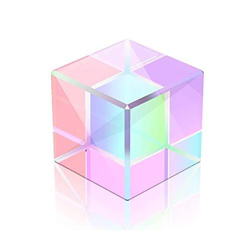 Prisma Optisches Glas, 15mm Transparentes Brechkristall-Prisma Für Wissenschaftliche Experimente K9 optisches Glas, Lehrprisma Für Physikalische Optik, Spektrale Sonnenlichtreflexionsfotografie