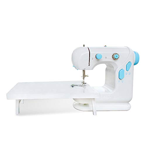 Eamplest Sewing Machine Kit, Portable Electric Mini Embroidery Machine for Beginners Children DIY Enthusiasts