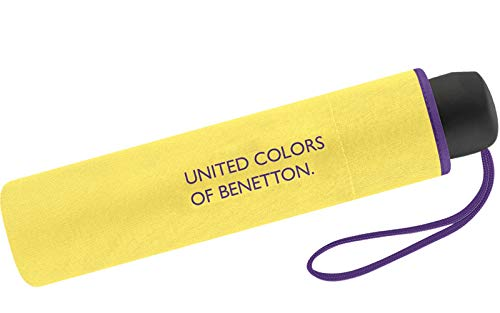 Paragua amarillo limón United Colors of Benetton