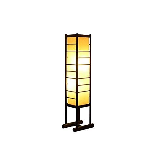 Allamp Conducido creativo Manual de Ingeniería Restaurante Tienda Sala de estar del estilo chino de la sala de estar Decoración Lámparas de pie Eye-Cuidado Vertical luz del piso Para aprender de coser