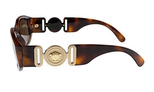 Versace VE4361 Sunglasses 521773-53 – Havana Frame, Brown VE4361-521773-53