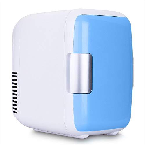 4L mini voiture frigo 12V refroidisseur et chauffe réfrigérateur chauffage alimentaire électrique portable glacière boîte de voyage ABS pas de compresseur pour le camping