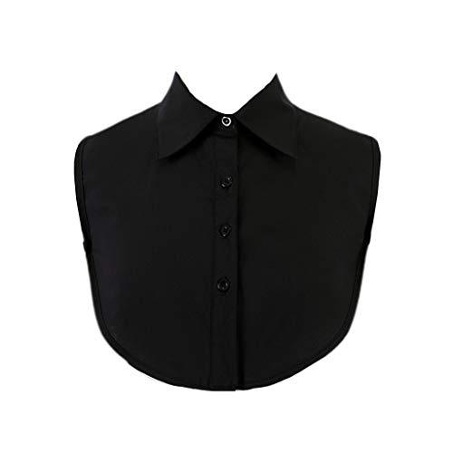 Haorw Krageneinsatz Damen - Frauen Kragen Abnehmbare Hälfte Shirt Bluse - 29 Styles