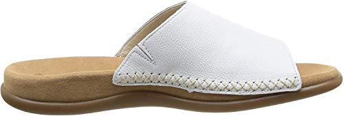 Gabor Shoes Damen Gabor Jollys Pantoletten, Weiß (Weiss), 39 EU