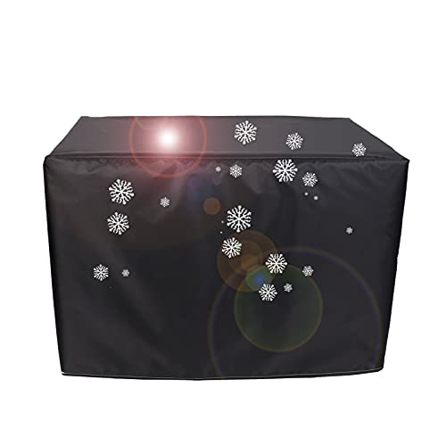 XIGG Funda para Muebles Exterior Impermeable 170x94x70cm, Funda Protectora Exterior Anti-UV, Funda para Mesas Resistente al Polvo Anti-Nieve, para Mesas y Sillas al Aire Libre