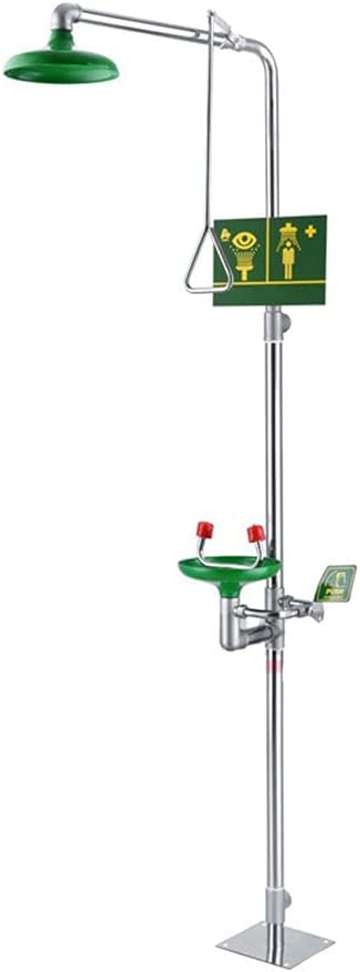 Manufacturer direct delivery GLJ Animer and price revision Eyewash Station 304 Composite Filter No with Double