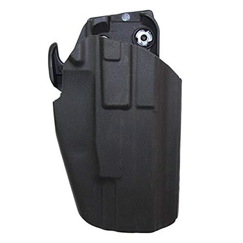 Vioaplem Hunting GLS 579 Universal De La Pistolera Pistola Airsoft Gun Pistolera For Taurus PT 840 845 Glock 17 19 22 Sig Sauer P226 H & K45 Pistoleras Pistoleras (Color : Black)