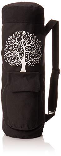 BalanceFrom BFGYFM6BLK Goyoga Full Zip Exercise Yoga Mat Bag