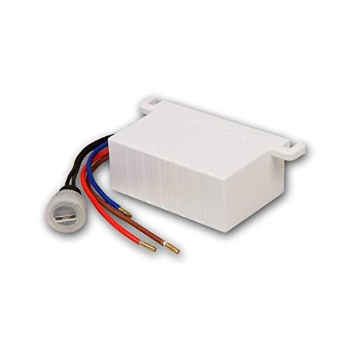 world-trading-net - Interruptor crepuscular/sensor crepuscular para instalación en el techo 230V/10A